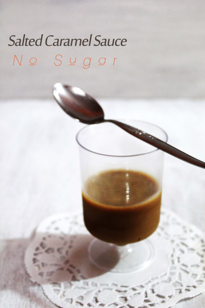 How to make Salted Caramel Sauce - No Sugar