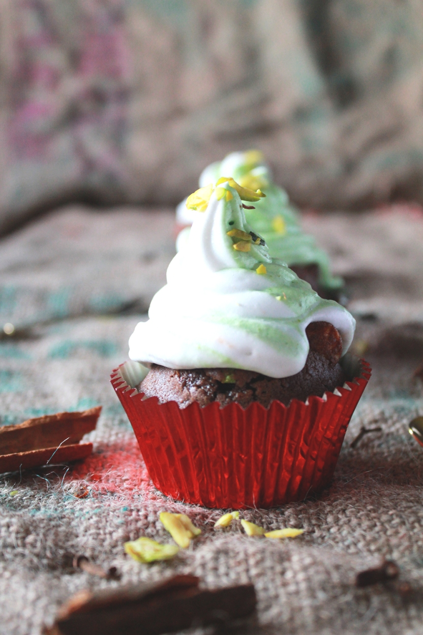 spiced Hot Chocolate cupcakes | The Cupcake Confession