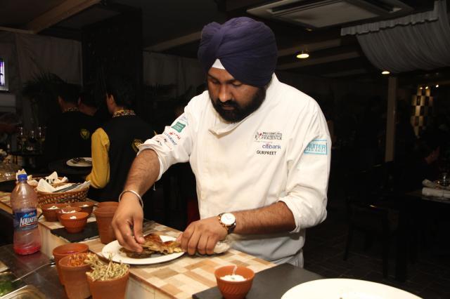 Chef Gurpreet Singh of Punjab Grill